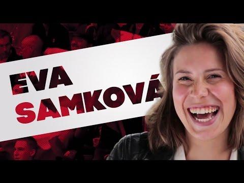 Eva Samková: Když šaty, tak pořádný výstřih! [Naši šampioni]