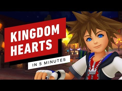 Kingdom Hearts Story in 5 Minutes
