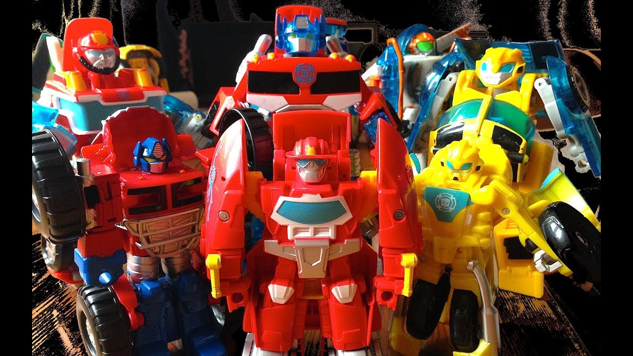 Rescue Bots Toy Set Rescue Bot Toys