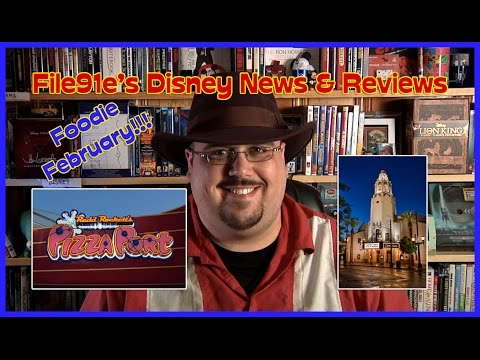 File91e's Disney News & Reviews (Redd Rockett's Pizza Port & Carthay Circle Restaurant)