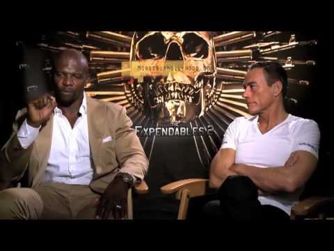 Jean Claude Van Damme Terry Crews Exclusive Interview by Monsieur Hollywood