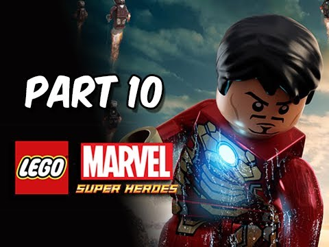 LEGO Marvel Super Heroes Gameplay Walkthrough - Part 10 Iron Man Mk. 42 Let's Play