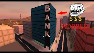 JAILBREAK GAMEPLAY ROB THE BANK OR DIE!?!?