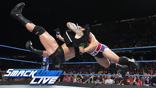 Randy Orton floors Rusev with an RKO: SmackDown LIVE, Aug. 1, 2017