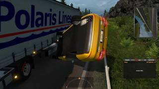 Euro Truck Simulator 2 Multiplayer (Idiots on the road #5)
