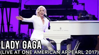 Lady Gaga Million Reasons Yoü And I The Edge Of Glory Live At One American Appearl 2017