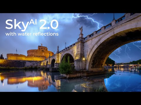 Sneak Peek: Water Reflections in AI-powered Sky Replacement