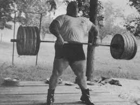 Пауль андерсон тяжелая атлетика
