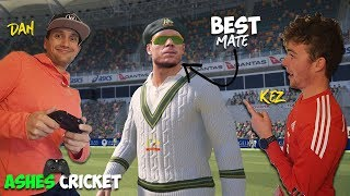 ASHES CRICKET 17 | Dan vs Kieran (We are REALLY Bad)