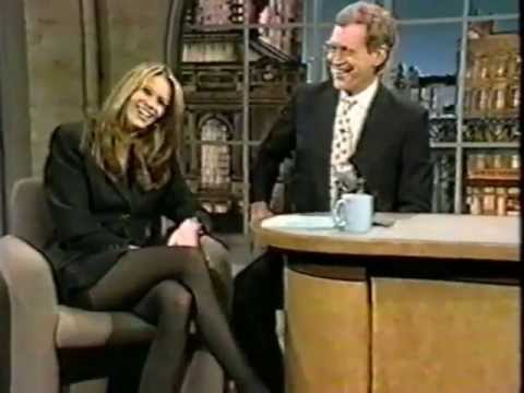 Elle Macpherson on Late Show (1994)