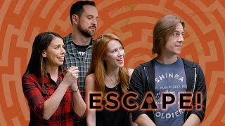 Critical Role Escapes the Evil Sorcerer's Lair (Escape! w/ Janet Varney)
