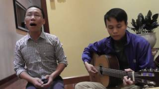 CÚC ƠI - Đình Khoa hát với guitar Văn Nhất, ngẫu hứng tại Quán chay TRI NGỘ