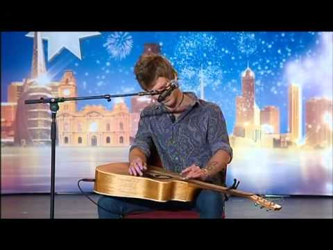Owen Campbell - Angry Busker -  Australia's Got Talent 2012 audition 3 [FULL]