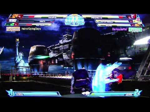 MvC3 Horrendous Lag Online Casuals pt24
