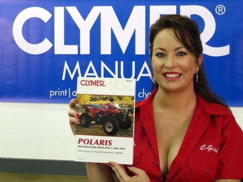 Clymer Manuals Polaris Magnum Manual 425 2X4 4X4 6X6 Big Boss Manual 500 6X6 ATV manual Video