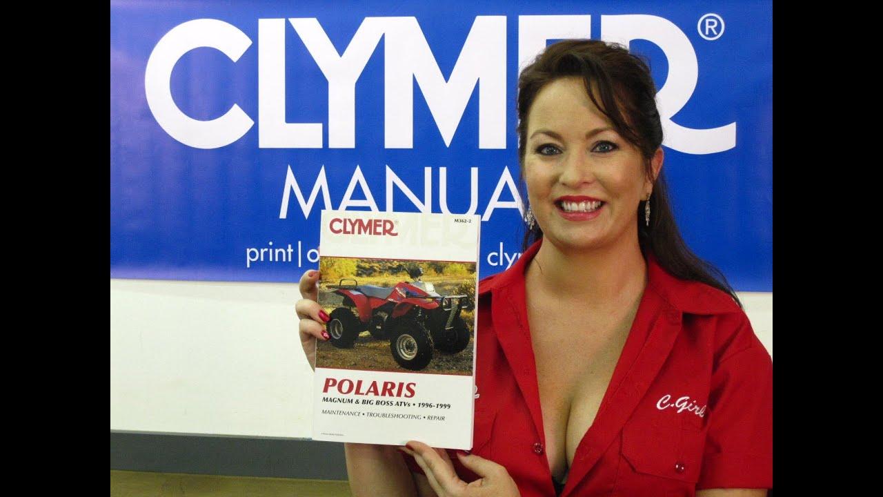 clymer manuals polaris magnum manual 425 2x4 4x4 6x6 big