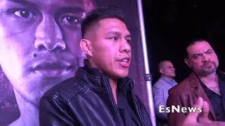 Game Plan For Leo Santa Cruz Fight Miguel Flores Reveals EsNews Boxing