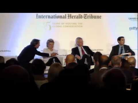 The Global Conversation: Discussion with Carl Bildt, Viviane Reding & Luca Cordero di Montezemolo