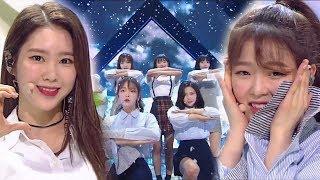 《CUTE》 OH MY GIRL(오마이걸) - Love O'clock @인기가요 Inkigayo 20180225