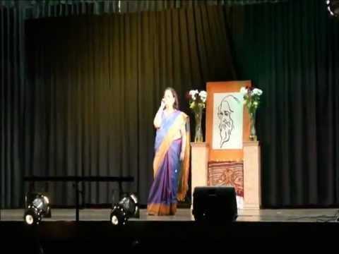 Amaro Porano Jaha Chai by Mitu LIVE  NSW Bengali Rabindra Jayanti...