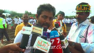 Actor Aari Joins With 5000 Students Supporting Agriculture Event