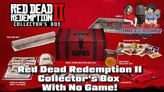 Red Dead Redemption II Collector's Box with No Game! #CUPodcast