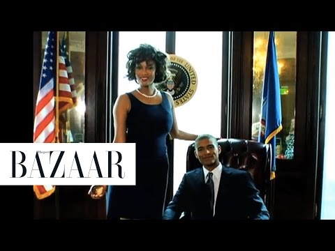 Tyra Banks - Harpers Bazaar September Cover Shoot