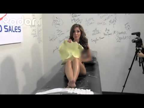 Farrah Abraham Makes A Mold Of Her Private Parts!