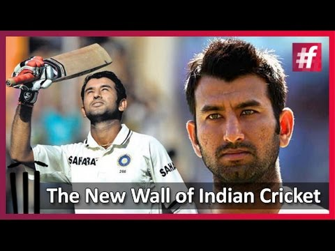 Cheteshwar Pujara - The New Wall  of Indian Cricket