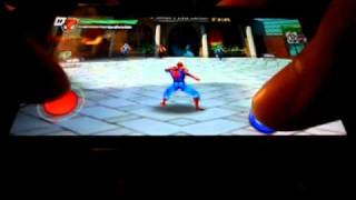 Ultimate SpiderMan Total Mayhem HD gameplay preview on Nokia N8