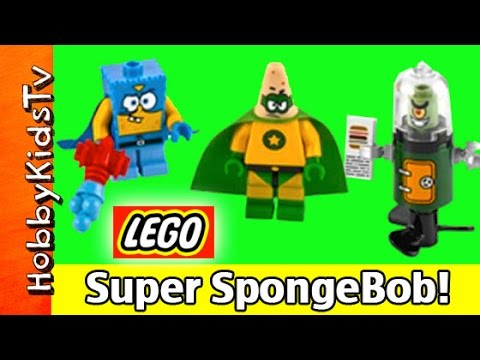 Lego Spongebob Heroic Heroes Of The Deep 3815 Build Patrick Plankton Nickelodeon Hobbykidstv video