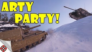 World of Tanks - Funny Moments | ARTY PARTY! (WoT, June 2018 - 2)