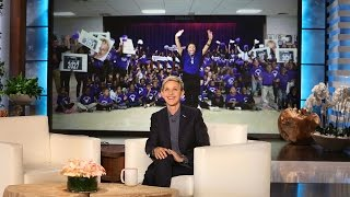 Ellen Surprises a School That's Changing Lives