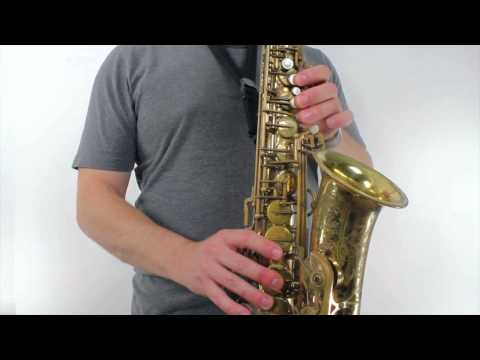 Alto Sax Lesson - How to Play Careless Whisper by George Michael
