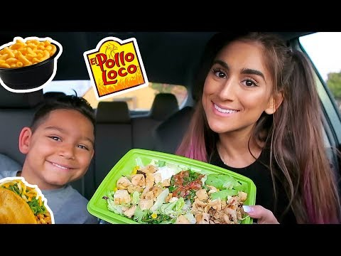 TRYING EL POLLO LOCO! EAT WITH US thumbnail