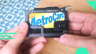 Trayvax Contour Wallet Review   Travel Wallet