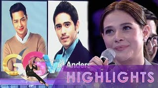 GGV: Bea Alonzo asks questions to Zanjoe and Gerald