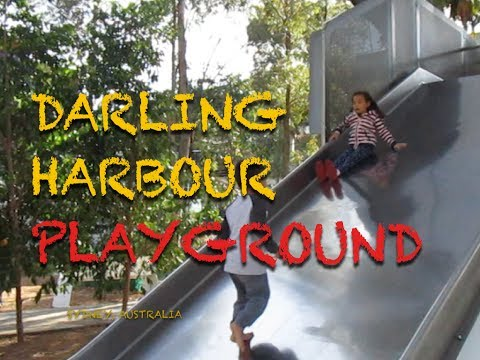 PLAYGROUND AT DARLING HARBOUR Sydney Australia