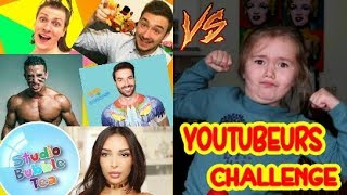 YOUTUBERS CHALLENGE😱👍 SWANN DAB LES PLUS GRANDS YOUTUBEURS🎉🎊