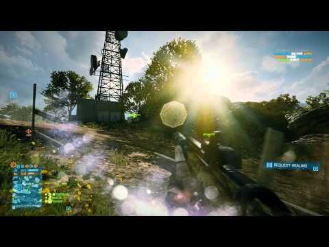 Battlefield 3 Multiplayer: Large Conquest on Caspian Border (48-9) (PC, Ultra, 1080p) GTX 680
