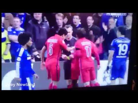 Blaise Matuidi funny reaction to yellow card