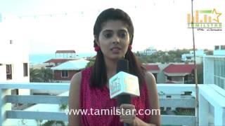 Shraviya At Vilayattu Aarambam Shooting Spot