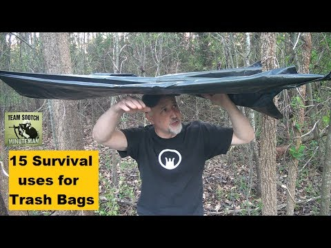 15 Trash Bag uses for Survival