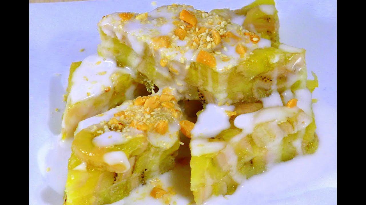 Asian Banana Cake