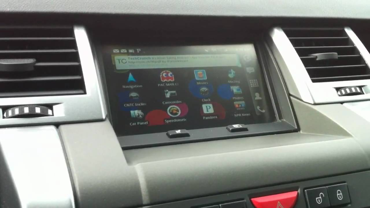Android Carpc Htc Droid Incredible Tv Out Range Rover