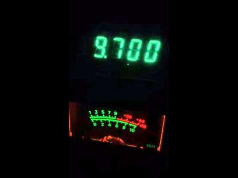 Radio New Zealand International 9700 khz 04/20/16 10:31 UTC