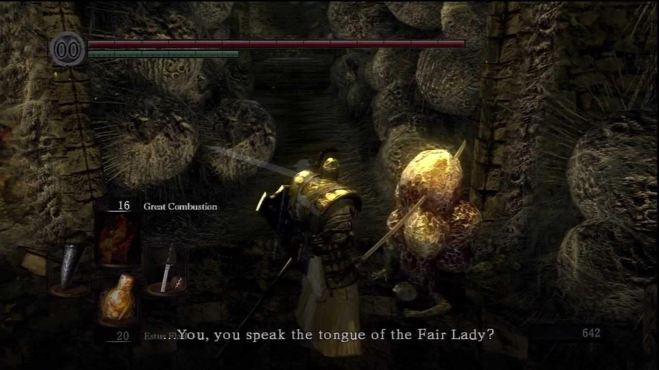 Quelaan Healthy Dark Souls Daughter of Chaos