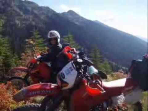 Dual Sport Continental Divide - Canada to Mexico Pt 1