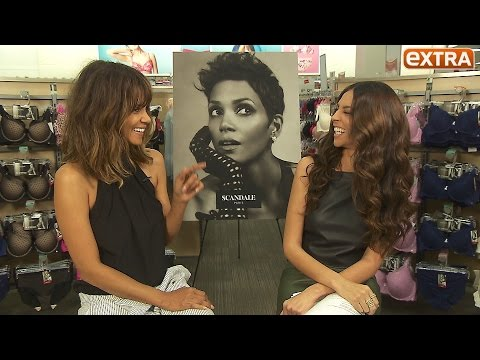 Halle Berry's TMI Confession About Her Lingerie Line