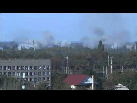 Russian Troops Lead Battle for Donetsk Airport: Insurgents tell BBC Russian officers are 'mediators'